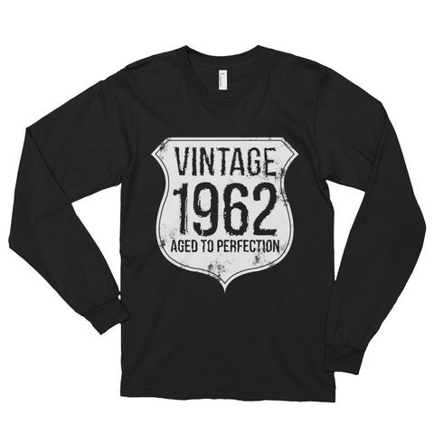 Vintage 1962 Aged to Perfection Long sleeve t-shirt (unisex)
