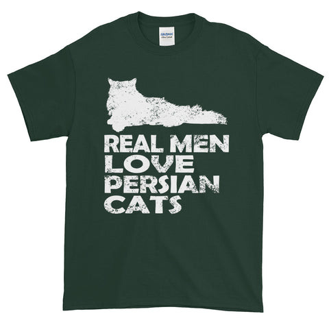 Real Men Love Persian Cats Short-Sleeve T-Shirt