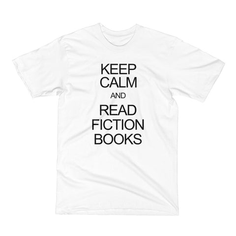 Keep Calm and Read Fiction Books Men's Short Sleeve T-Shirt