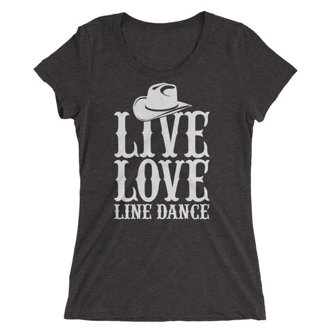 Live Love Line Dance Ladies' short sleeve t-shirt