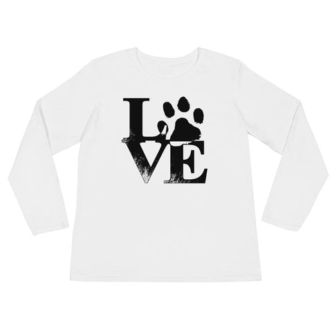 Love Ladies' Long Sleeve T-Shirt