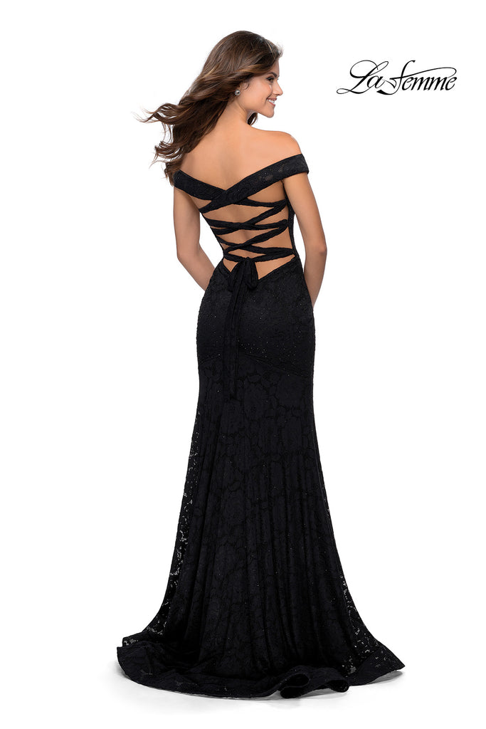 IN STOCK BLACK SIZE 2, RED SIZE 10 La Femme Style 28545