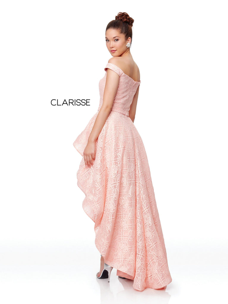 Clarisse 3730 Prom 2019 Ballgown, IN STOCK DUSTY PINK SIZE 0