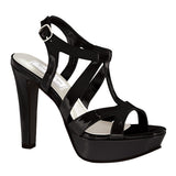 Queenie Black Heels
