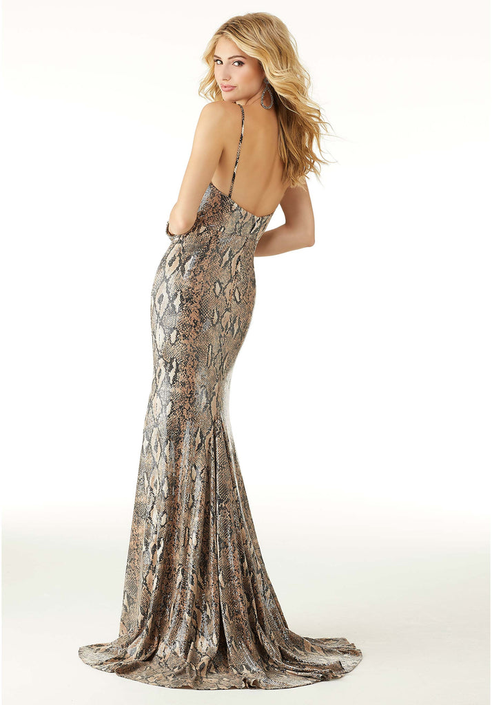 IN STOCK PYTHON SIZE 4, 6, 8 Morilee Prom Style 45017