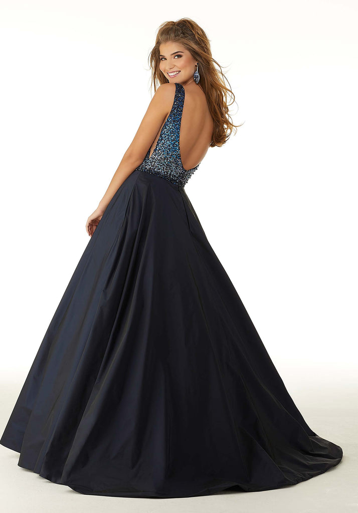 IN STOCK WINE SIZE 4, 14 Morilee Prom Style 45037