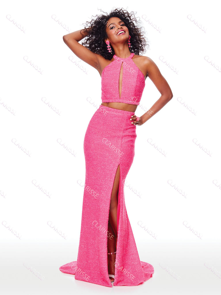 IN STOCK FUCHSIA SIZE 0, 8 Clarisse Style 7011