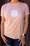 Graphic Tee - The Moon Knows all my Secrets - Zodiac Top - Light Pink