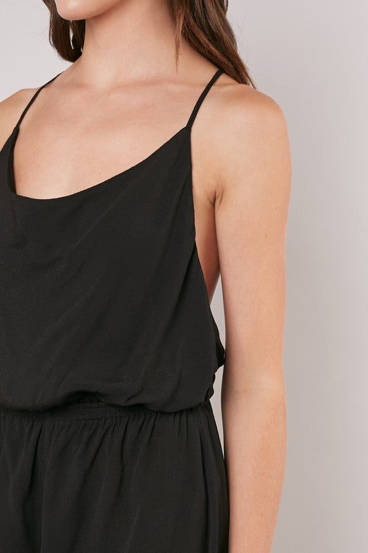 Simple & Sweet Romper - Black
