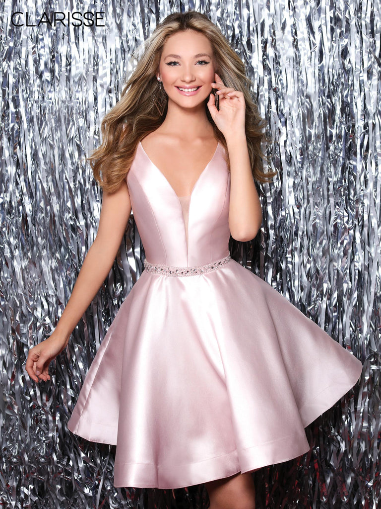 IN STOCK BLUSH SIZE 10 Clarisse Style S7019
