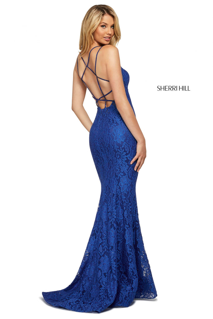 IN STOCK PEACOCK SIZE 8 Sherri Hill Style 53360