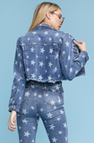 Medium - Starstruck Denim Jacket