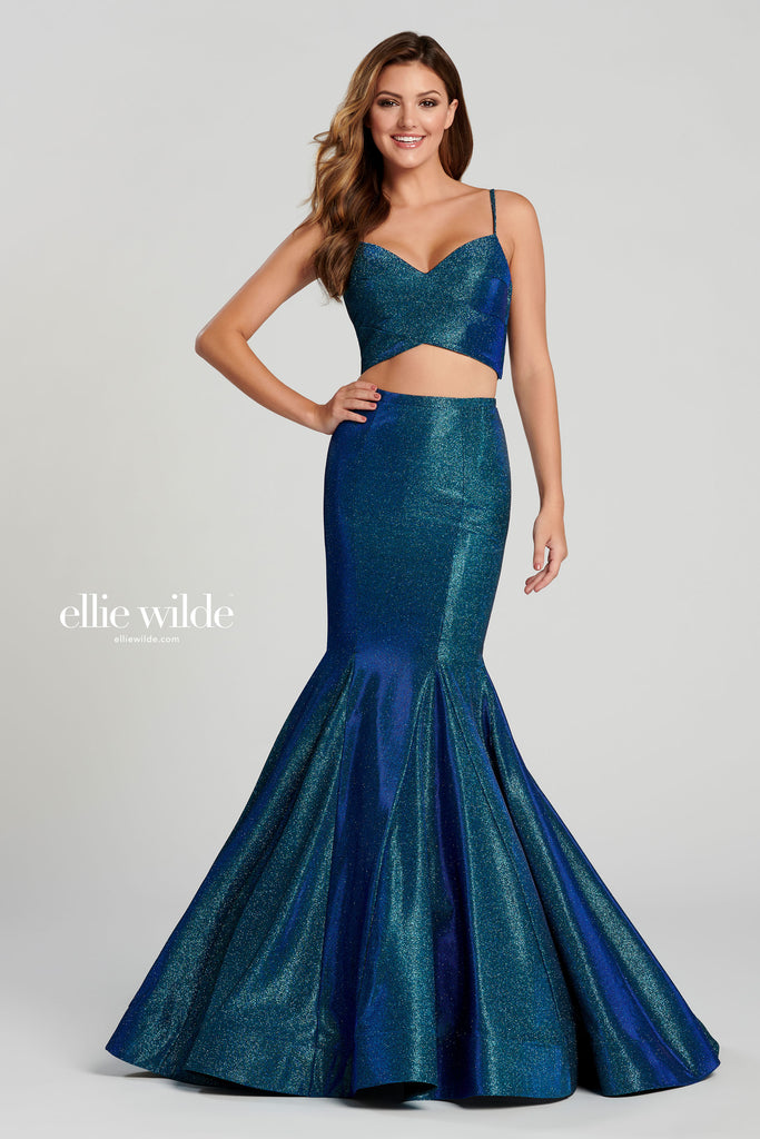 IN STOCK DARK TEAL SIZE 12 Ellie Wilde Style EW120111