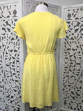 Large - Kate Dress - Yellow