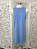 Knotted Back Dress - Sky Blue