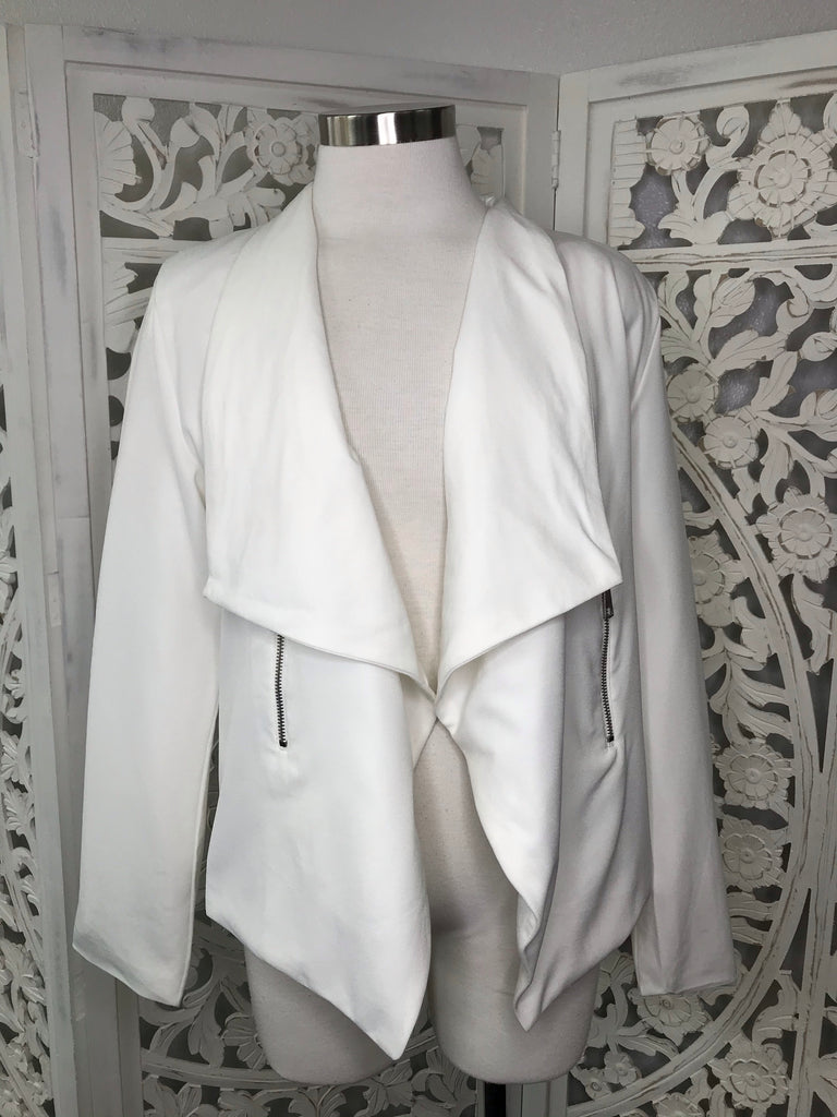 In Charge Blazer - White