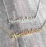 NORTH DAKOTA NECKLACE
