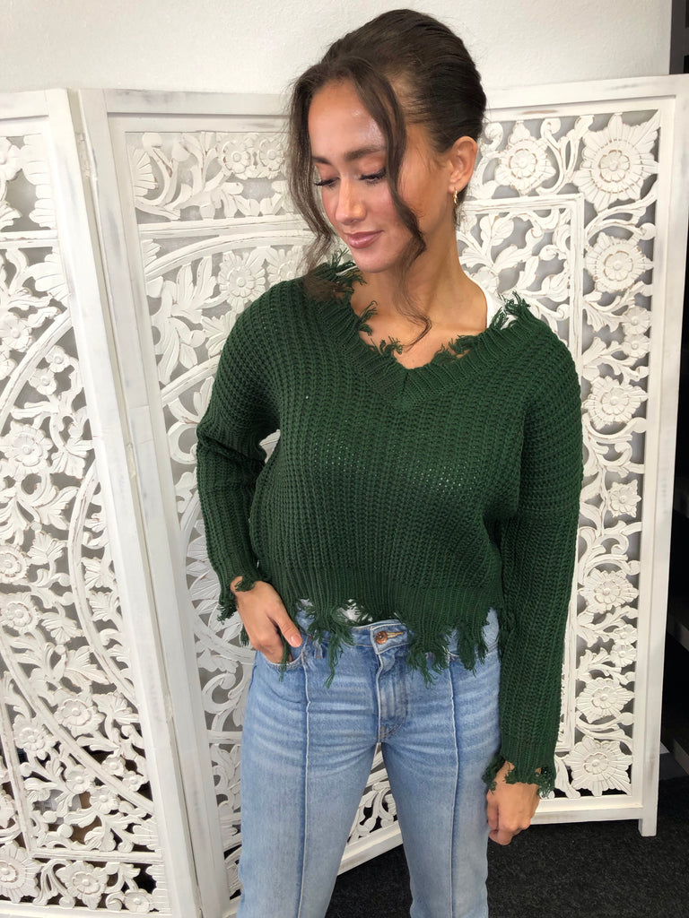 Alex Sweater - Green