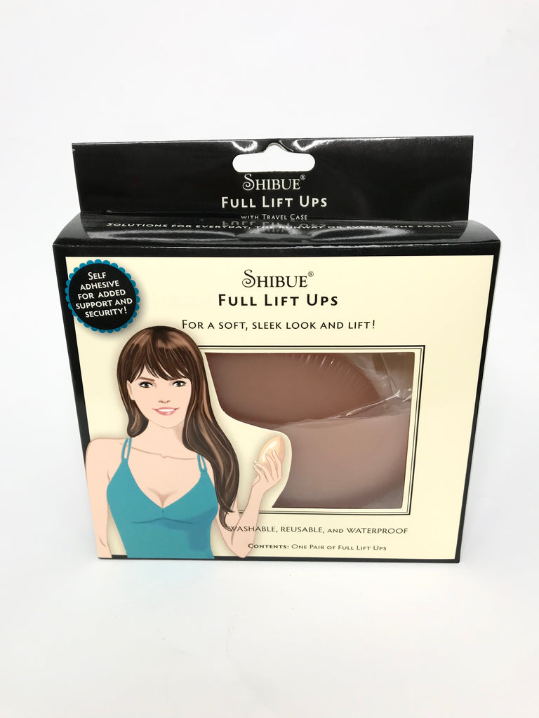 Adhesive Full Silicone Breast Lift Ups - Nude
