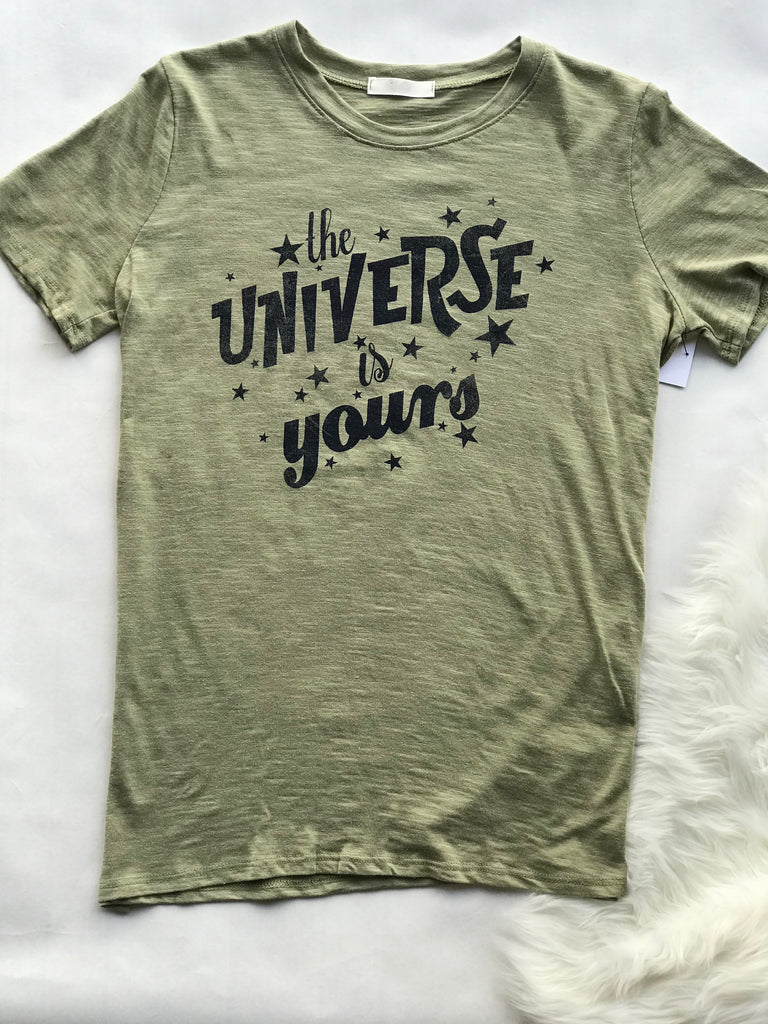 Small - Graphic Tee - The Universe is Yours