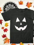 Graphic Tee - Jack O Lantern - Glow in the dark ink