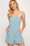 Who's Who Romper - Blue