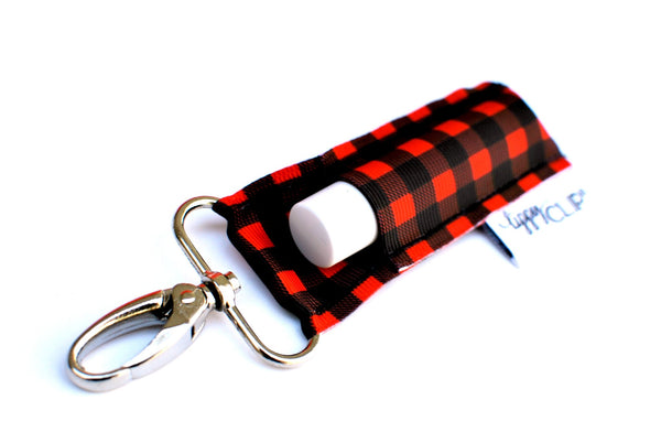 Lippy Clip - buffalo plaid