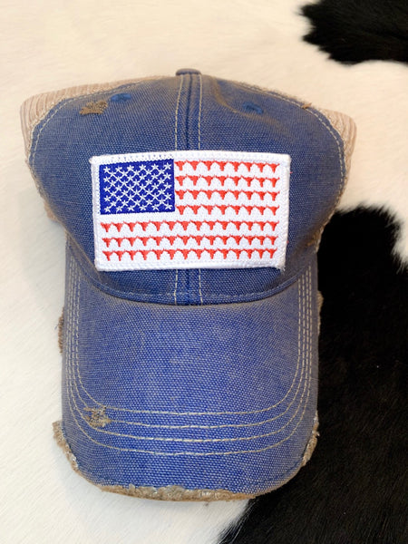 Flag Steerhead hat