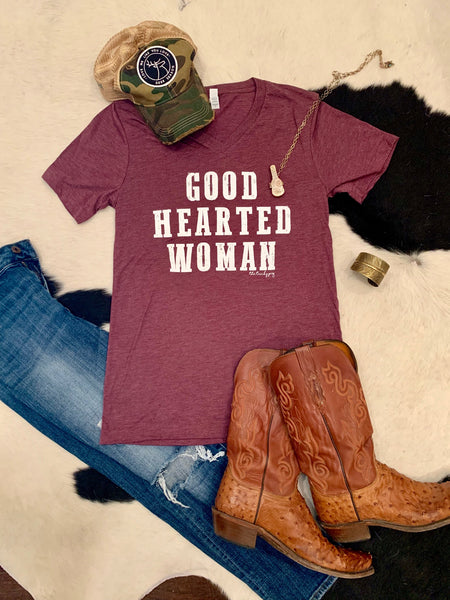 Good Hearted Woman tee