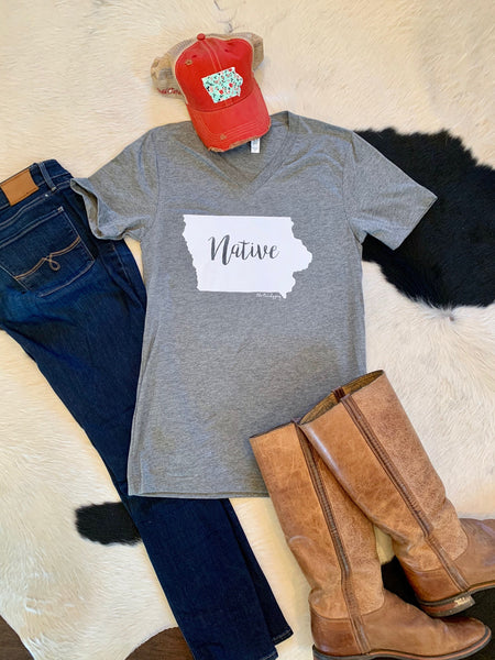Native tee - Iowa