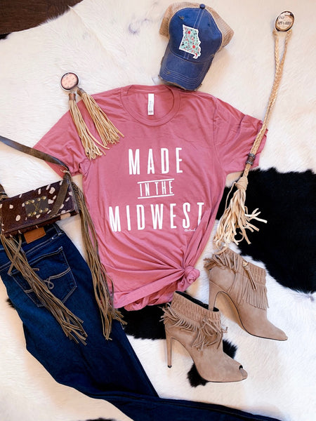 Made in the Midwest - tee