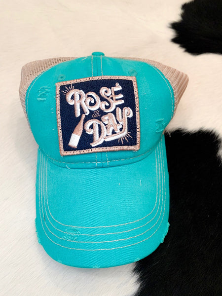 Rose all Day hat