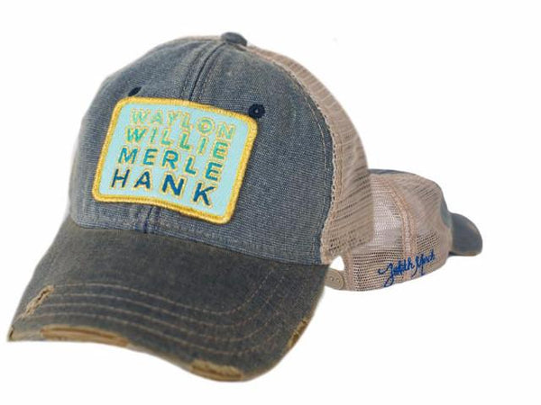 Willie, Waylon, Merle & Hank hat