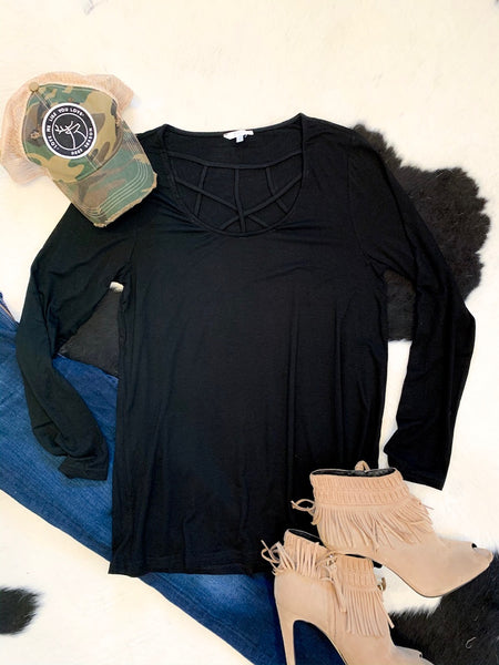 Basic Top - black