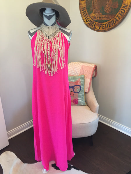 The Statement Maxi - Pink
