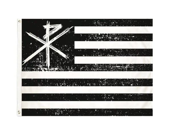 American Chi-Rho - Large Flag