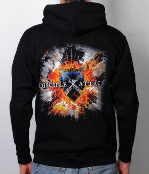 Attack Cover Zip Hoodie