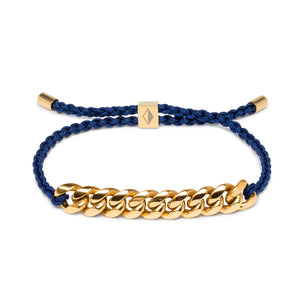 Blue Rope & Gold Chain - Equinoxx Design