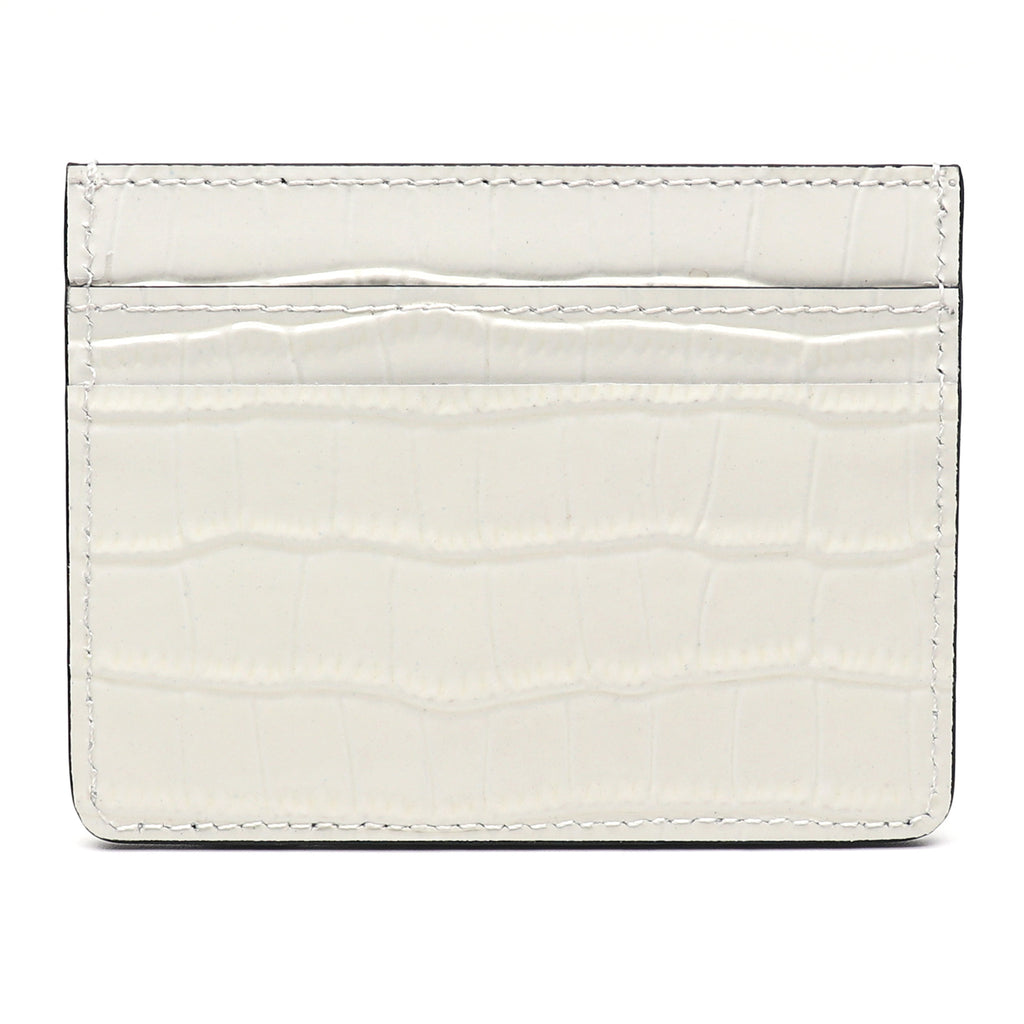 Card Holder - White Croco - Equinoxx Design