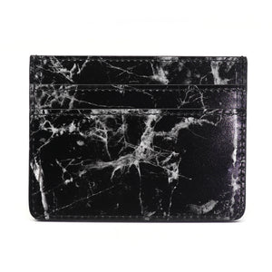 Card Holder - Black Marble - Equinoxx Design
