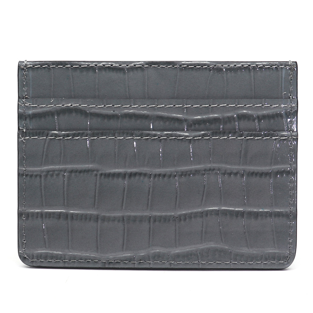 Card Holder - Grey Croco - Equinoxx Design