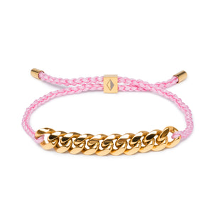 Pink Rope & Gold Chain - Equinoxx Design