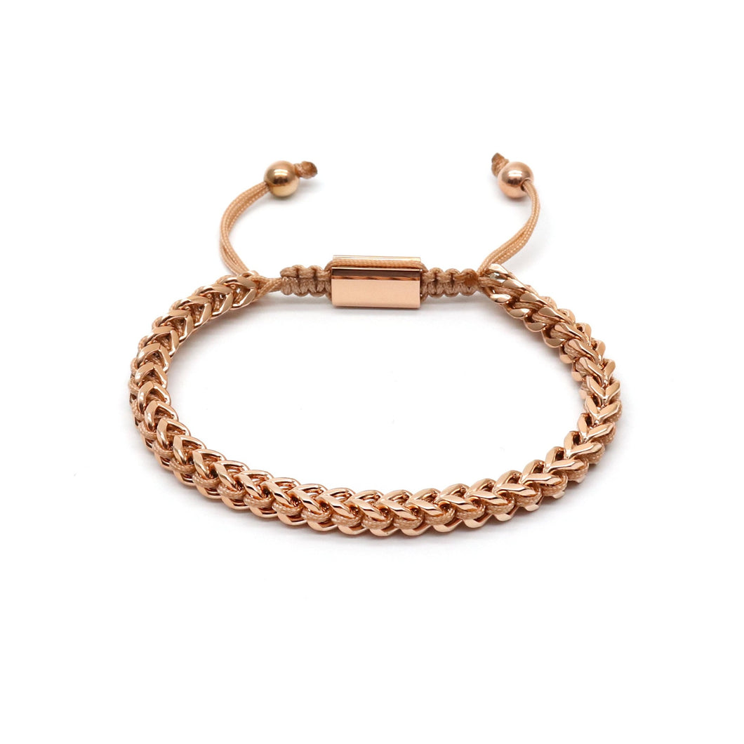 Rose Gold Rope & Full Rose Gold Chain - Equinoxx Design