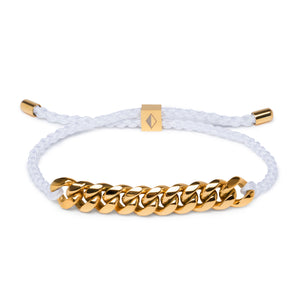 White Rope & Gold Chain - Equinoxx Design