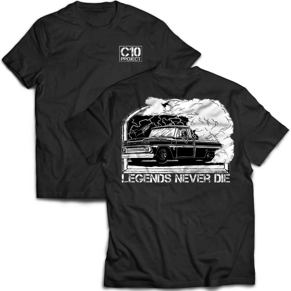 Legends Never Die Short Sleeve Shirt