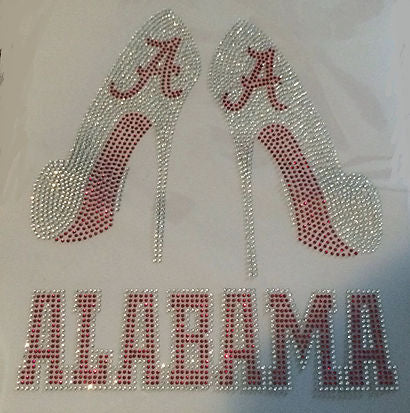 Colleges and Universities Rhinestone Apparel