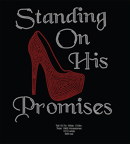Standing On His Word Rhinestone Digital Download