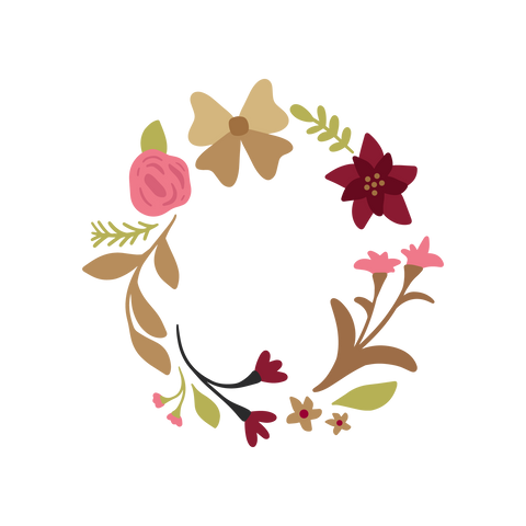 Floral Frame Digital Download Only(FREE)