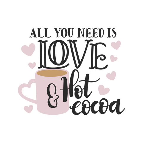 All You Need Is Love & Hot Cocoa Digital Download(Free Download)