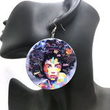 American African Girl Earrings